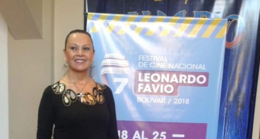 Naanim Timoyko dijo presente en el Festival de Cine Leonardo Favio