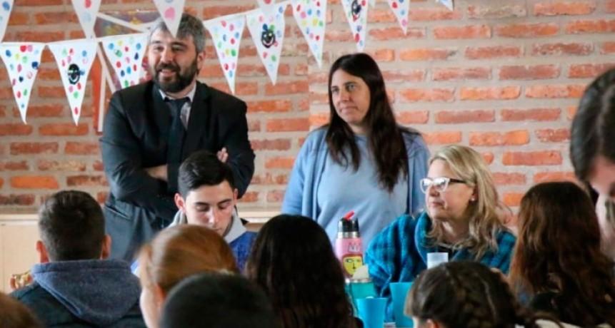 Los concejales Beorlegui y Colombo participaron de la Etapa Distrital
