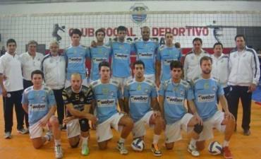 Voley Súper 4 : Con una buena actuación el equipo de Bolívar cayó por 3 a 2
