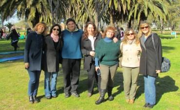 Este jueves se realizó el 'Encuentro Distrital de Jardines de Infantes en Educación Física' en el Parque Municipal