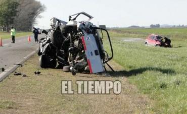 Nuevo accidente fatal en la Ruta Nacional 226