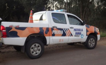 CPR: Volcó un vehículo en la zona rural