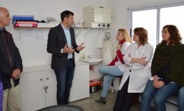 Se presentó el nuevo Centro Vacunatorio en el CAPS de Pompeya