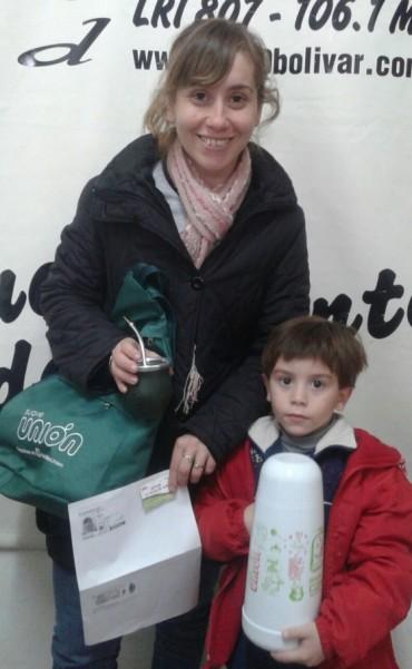 Primera ganadora con Yerba Mate Unión