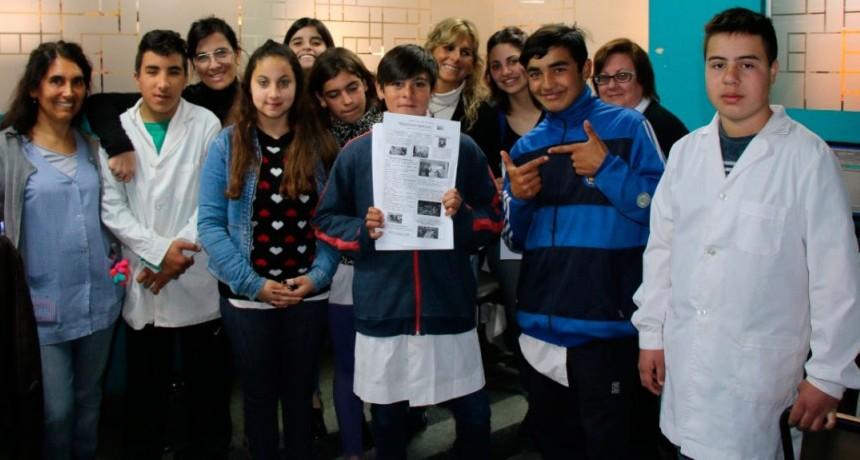 Alumnos de la escuela 501 visitaron el municipio y dialogaron con el intendente