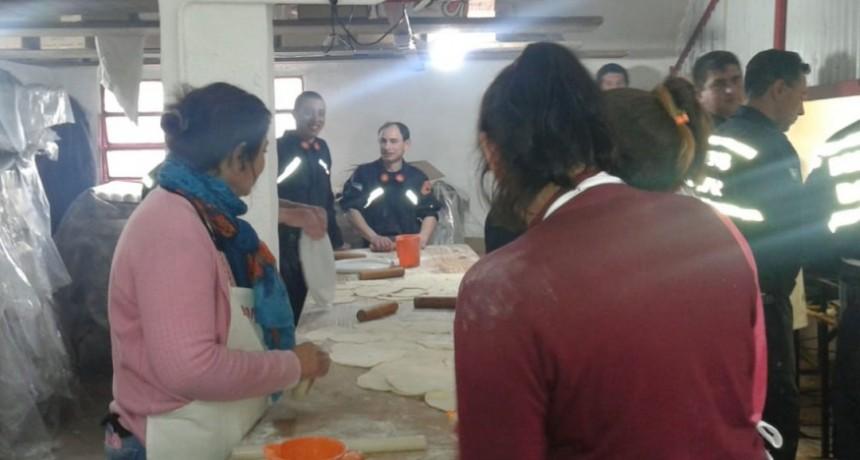 El kiosco de Bomberos Voluntarios nuevamente trabajando en la Expo Rural