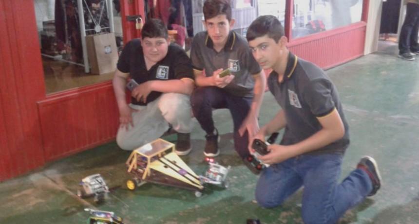 La Escuela Técnica presenta sus trabajos en el stand 171 de la Expo 2018