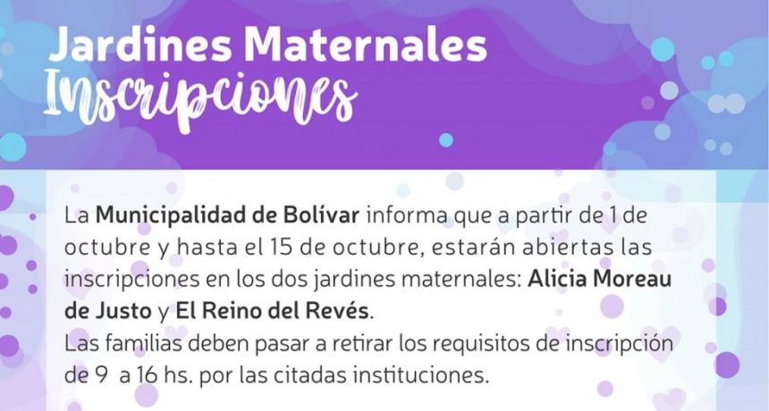 Está abierta la inscripción para el ciclo lectivo 2019 del Jardín Maternal Municipal