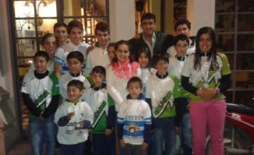 Ciclismo : La Escuela Municipal de Bolívar arrasó con todos los títulos en Uribelarrea