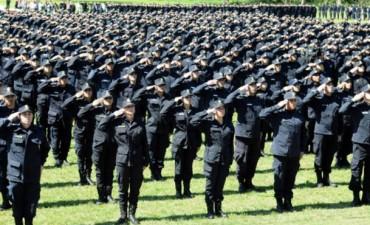 Habrá 10 mil nuevos policías en las calles de la Provincia a partir de diciembre