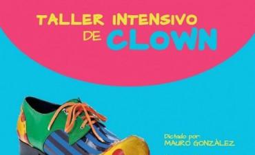 Se realizará un Taller Intensivo de Clown