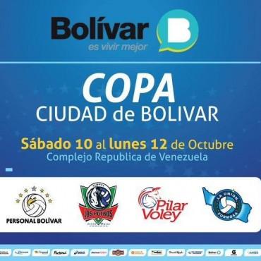 Voley: Preparan la 'Copa Ciudad de Bolívar'