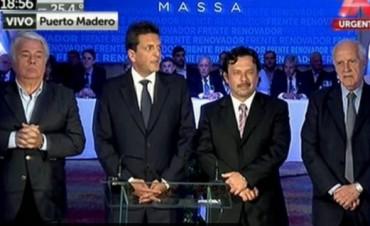 Massa, con un discurso ambiguo, deja que sus votantes decidan entre Macri o Scioli