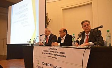 Bolívar participa en el Congreso de Atención Primaria de la Salud en Mar del Plata