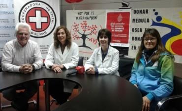 Se presentó la primera colecta solidaria de sangre