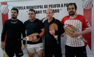 Club Empleados: Entregaron los premios del torneo de 'Pelota a Paleta'