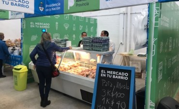 'El Mercado en tu Barrio' sumó una feria fija en Pilar