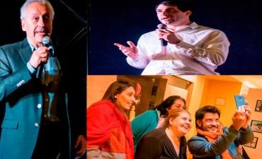 Cine Avenida: Con Jusid y Rago se proyectó 'Un viaje inesperado'