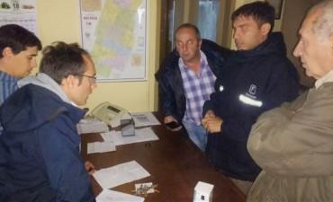 En Urdampilleta, Pirovano y Bolívar: El equipo Municipal asiste a los vecinos tras el temporal