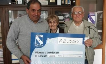 CAI: Presentaron a los ganadores de la 'Tarjeta Azul'