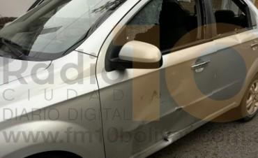 Accidente de calle Güemes y avenida Alsina: Una joven fue hospitalizada con una fractura