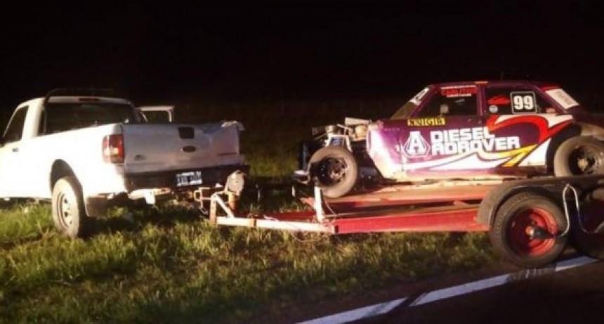 Pehuajo: En un accidente vial en ruta 5 falleció el joven piloto del TC 4000 Pablo Palmieri