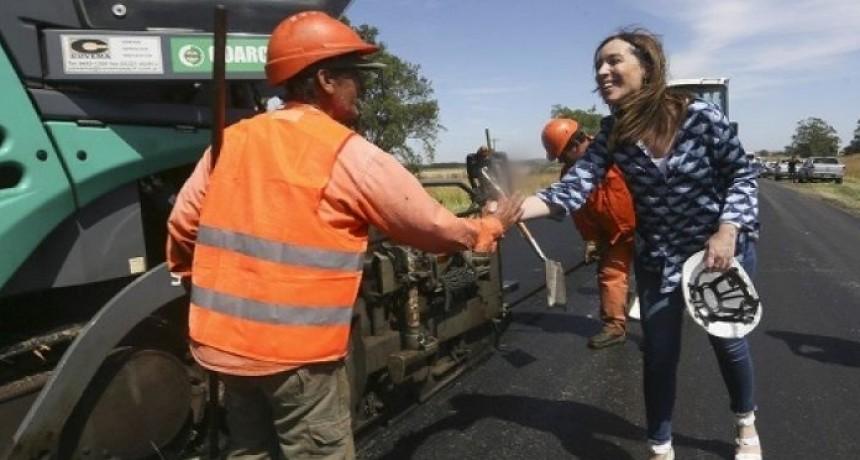 Vidal celebró llegar a los 3600 kilómetros de rutas rehabilitadas