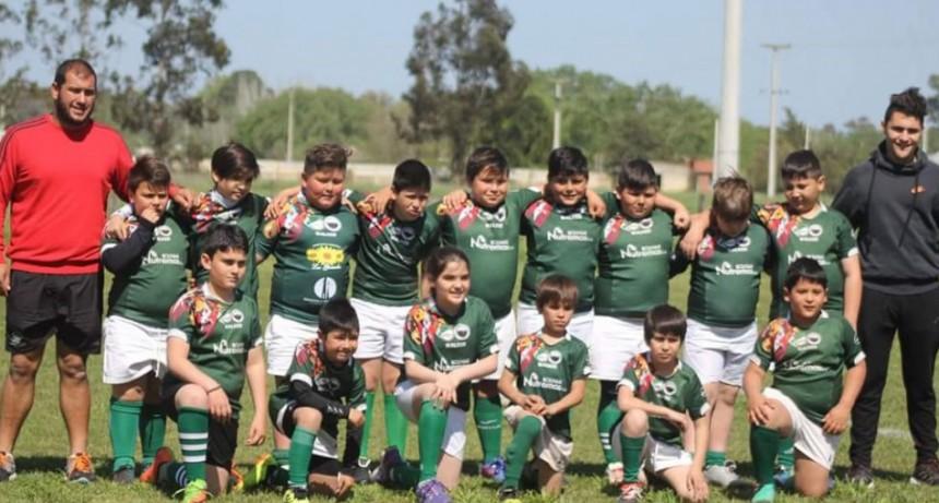 Actividad para todas las categorías de los Indios Rugby Club