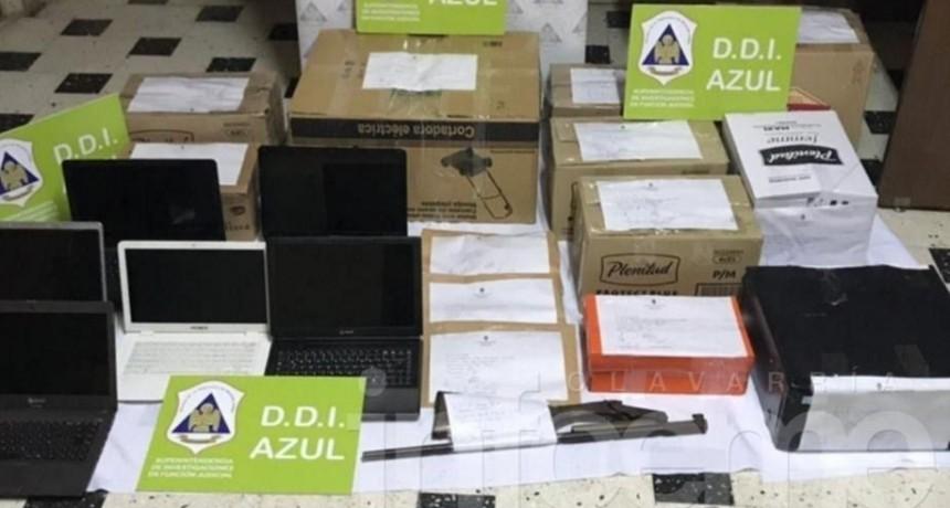 Olavarría: Cayó banda acusada de estafar con cheques sin fondos: conocido abogado, entre los detenidos