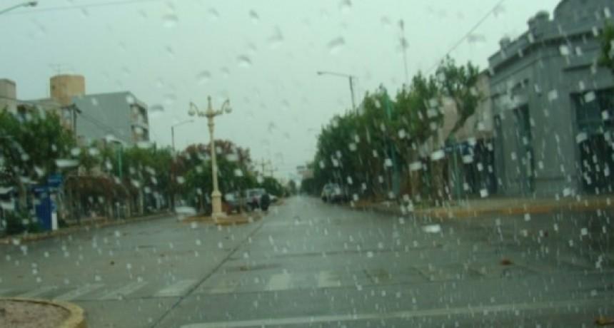 Registro de lluvias: Desde 10 hasta 45 mm registrados en Bolívar y la zona