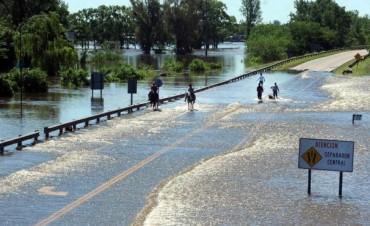 Hay más de 6000 evacuados por el temporal en la Provincia