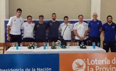 Voley ACLAV: Los técnicos y sus capitanes dieron una conferencia de prensa