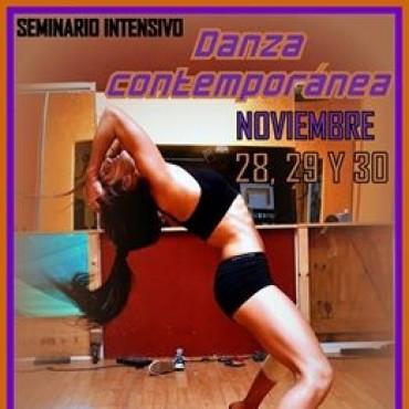 Este fin de semana: Seminario Intensivo de Danza Contemporánea