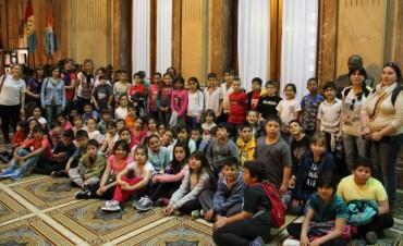 80 alumnos de la EP N°2 visitaron Buenos Aires