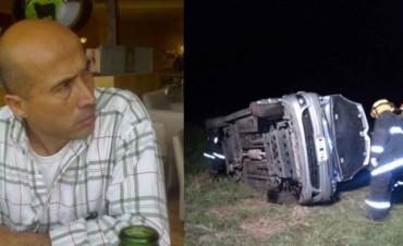 Evoluciona Raúl Sadobe, el conductor del auto que sufrió un despiste y posterior vuelco en Urdampilleta