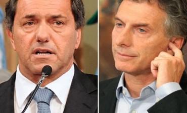 Debate presidencial: acordaron el orden y los temas a tratar por Scioli y Macri