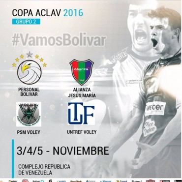 Personal Bolívar debuta mañana en la Copa Aclav 2016