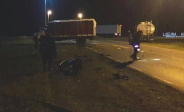 Bonifacio: Dos deroenses perdieron la vida en un tremendo choque en ruta 65