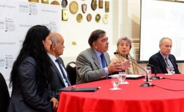 Salvador abrió en el Anexo del Senado una jornada provincial sobre el nuevo Código Civil y Comercial de la Nación