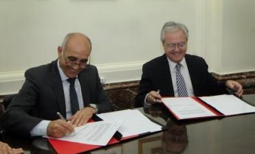El Senado de la Nación y el Senado de la provincia de Buenos Aires firmaron acuerdo de cooperación sobre diplomacia parlamentaria
