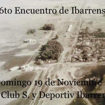 El domingo se realizará el 'Encuentro de Ibarrenses'