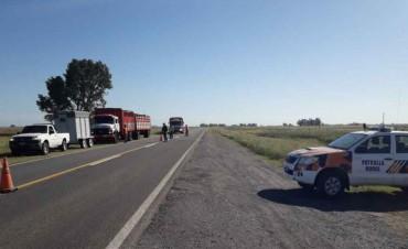 CPR Bolívar: Realizaron un operativo importante en Rutas 65 y 205