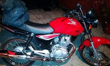Robaron una motocicleta en barrio Casariego