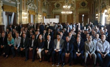 Vidal se reunió con Intendentes bonaerenses y les pidió
