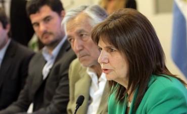 Bullrich: Declararon la Emergencia en Seguridad, a nivel nacional