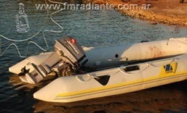 Un pigüense sufrió un grave accidente en la laguna de la ciudad