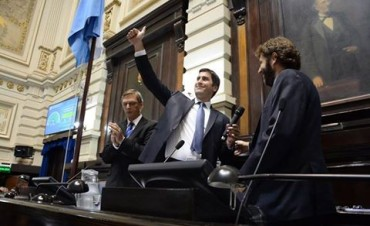 Manuel Mosca juró como Presidente de la Cámara de Diputados