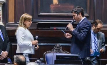 La bolivarense, Dra. Cristina Tabolaro, es la nueva Secretaria Legislativa de la Cámara de Diputados
