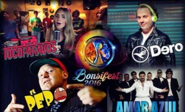 Olavarría: El próximo viernes llega la Bonsifest 2016