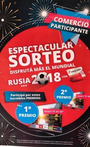 Disfrutá del Mundial con los sorteos de Favacard